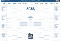 New Bracket Challenge Template #xls #xlsformat #xlstemplates throughout Blank Ncaa Bracket Template