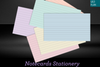 New Digital Index Cards For Studying, Note Taking And inside Index Card Template For Pages