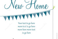 New Home Card Stock Vector. Illustration Of Home, Sale pertaining to Moving Home Cards Template