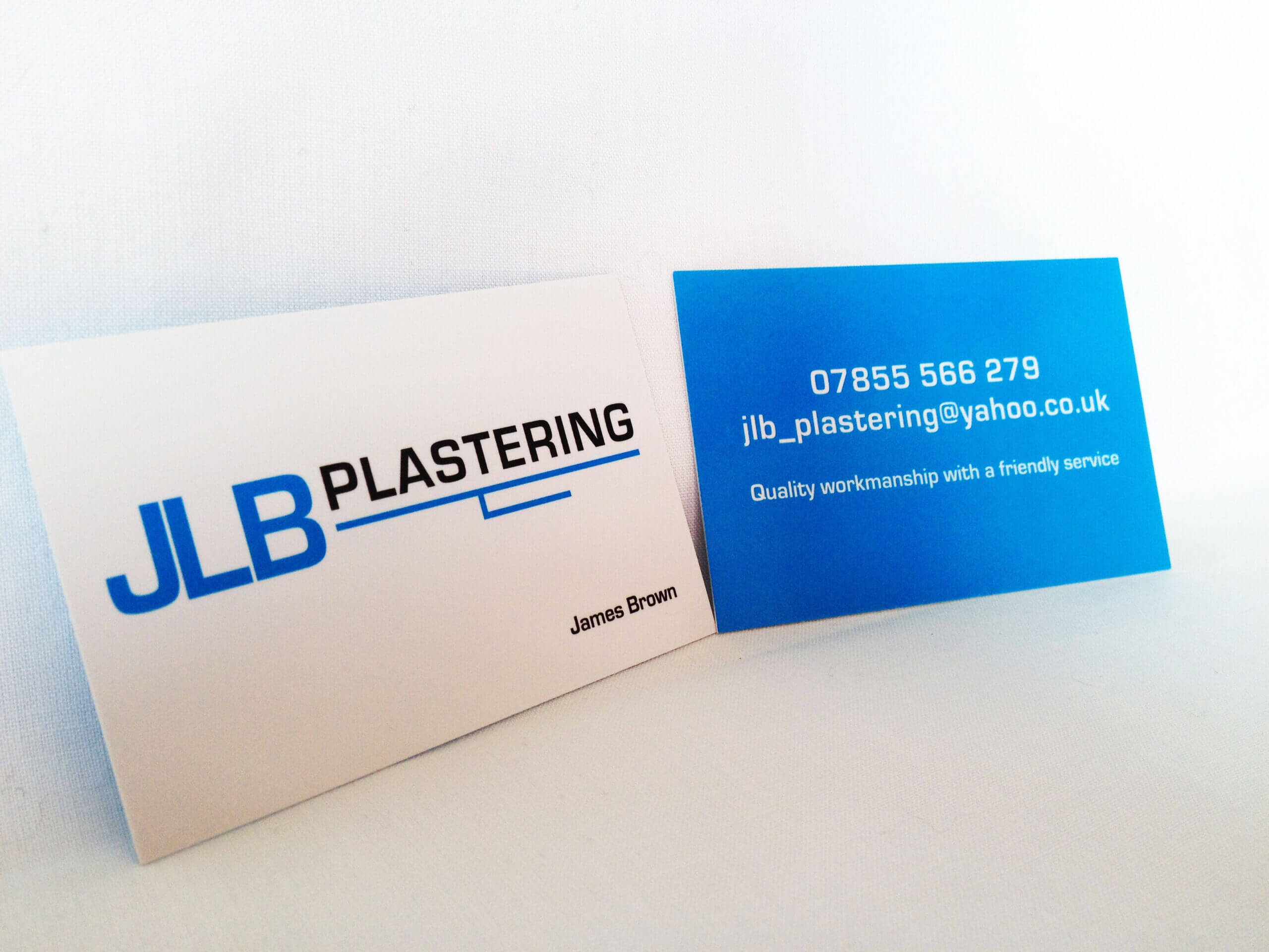 New Jlb Plastering Business Cards And Logo Design | Logos Pertaining To Plastering Business Cards Templates