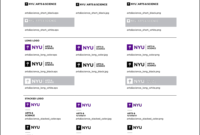 New School Visual Identity & Downloads Pertaining To Nyu Powerpoint Template