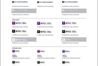 New School Visual Identity & Downloads pertaining to Nyu Powerpoint Template