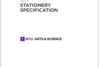 New School Visual Identity & Downloads with Nyu Powerpoint Template