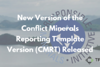 New Version Of The Conflict Minerals Reporting Template with Conflict Minerals Reporting Template