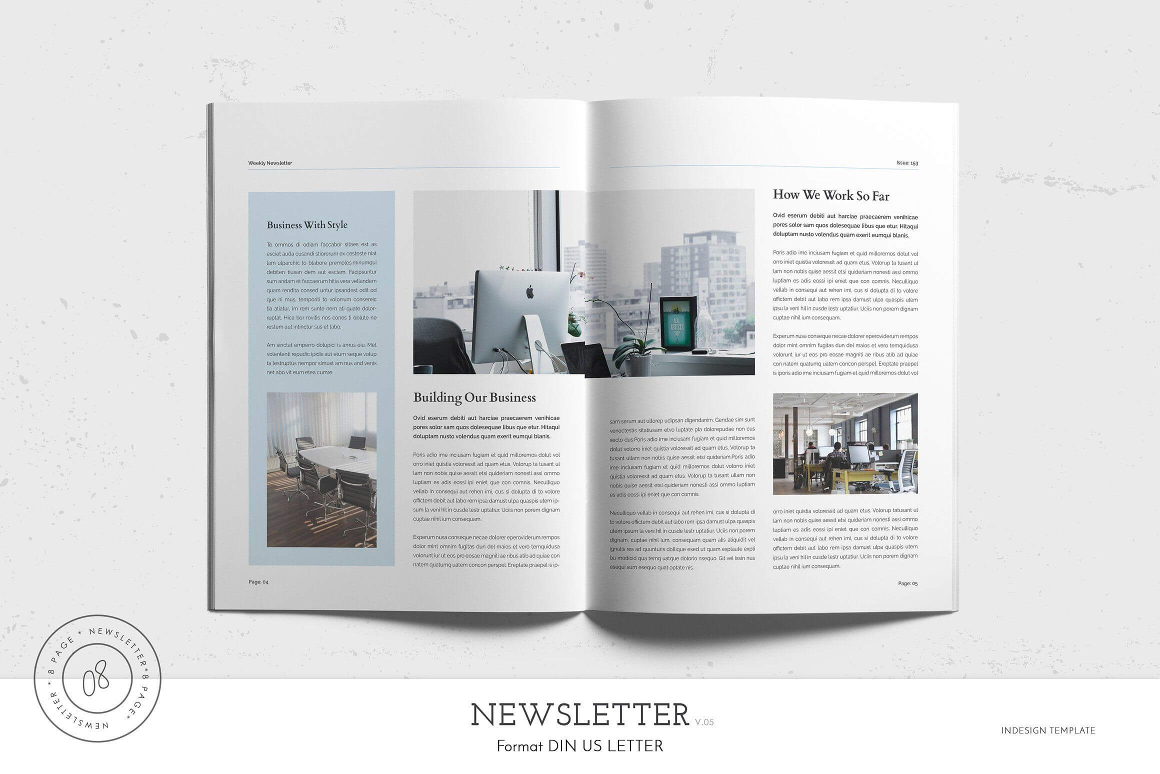 Newsletter Template #letter#brochure#paper#size | Newsletter Intended For Letter Size Brochure Template