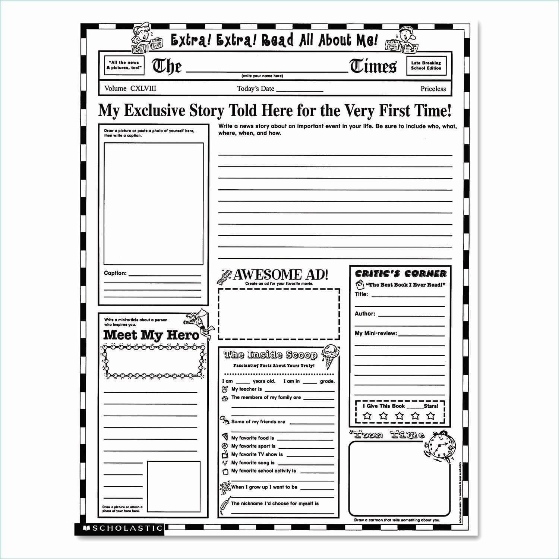 Newspaper Format Google Docs Luxury Free Newspaper Template Within Blank Newspaper Template For Word