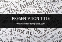 Newspaper Powerpoint Template Is Free Template That You Can In Newspaper Template For Powerpoint