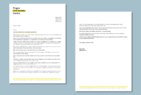 Ngo Letterhead With Follower Page #cordestra #word with regard to Headed Letter Template Word