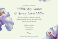 Nice Electronic Wedding Invitations Free Templates throughout Free E Wedding Invitation Card Templates