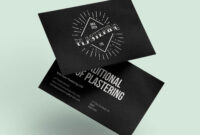 Nick Dyer Plastering | Createdjasmine for Plastering Business Cards Templates