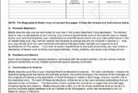 Nih Resume Format – Forza.mbiconsultingltd throughout Nih Biosketch Template Word