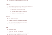 Note Templates In This Soap Note And Progress Note Kit for Soap Note Template Word
