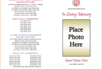 Obituary Template For Word – Zimer.bwong.co Pertaining To Fill In The Blank Obituary Template