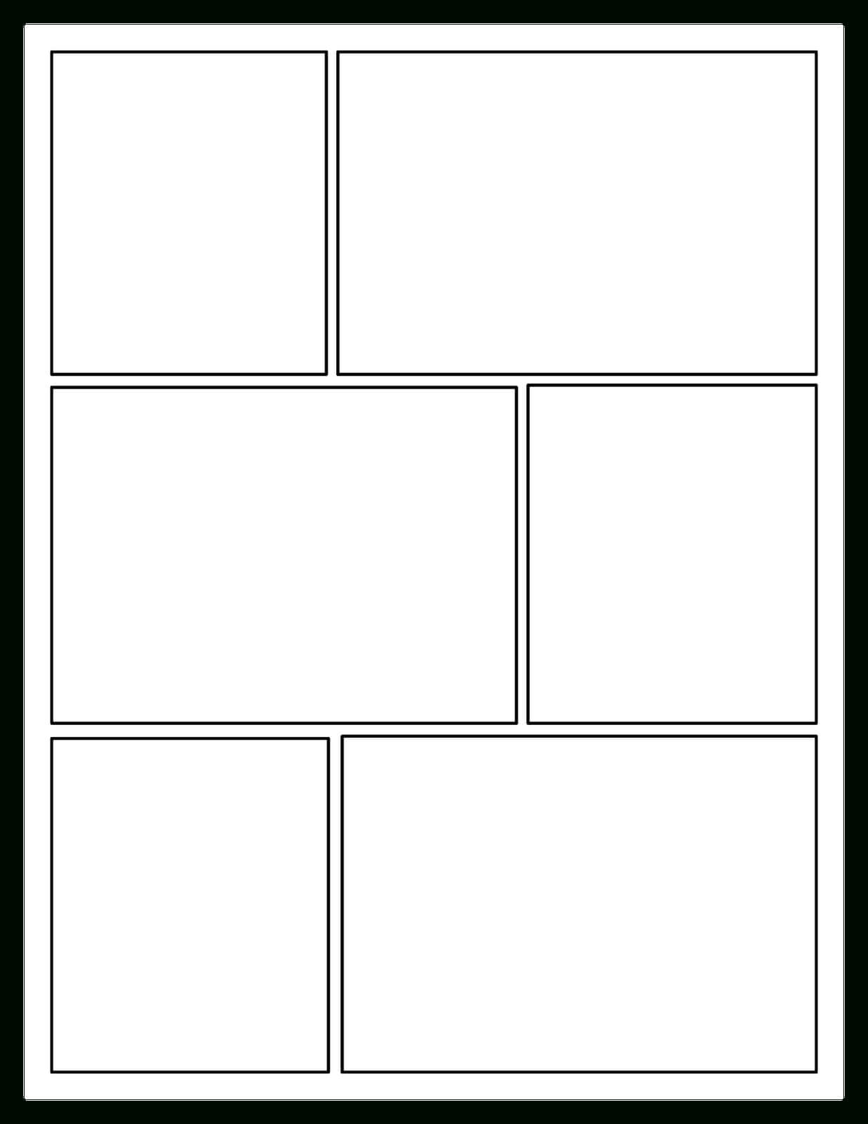 Offering Choices For Your Readers: Comic Book Craze! | Comic With Printable Blank Comic Strip Template For Kids