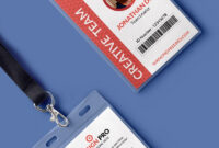 Office Identity Card Template Psd   Id Card Template with regard to Id Card Design Template Psd Free Download
