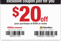 Office Max Coupons July 2018 / Buffalo Wagon Albany Ny for Office Depot Business Card Template
