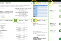 One Page Project Charter Ppt Template | Project Management intended for Team Charter Template Powerpoint