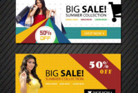 Online Shopping Banners Templates | Banner Template, Banner with Free Online Banner Templates