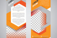 Orange Roll Up Banner Stand Design Template – Download Free with Banner Stand Design Templates