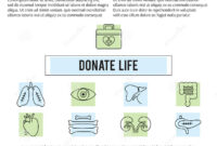 Organ Donation Template Stock Vector. Illustration Of Case with regard to Organ Donor Card Template