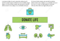 Organ Donation Template Stock Vector. Illustration Of pertaining to Organ Donor Card Template