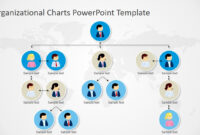 Organizational Charts Powerpoint Template With Regard To Microsoft Powerpoint Org Chart Template
