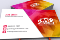 Our New Advocare Business Card Designs Are Up Now! #mlm in Advocare Business Card Template
