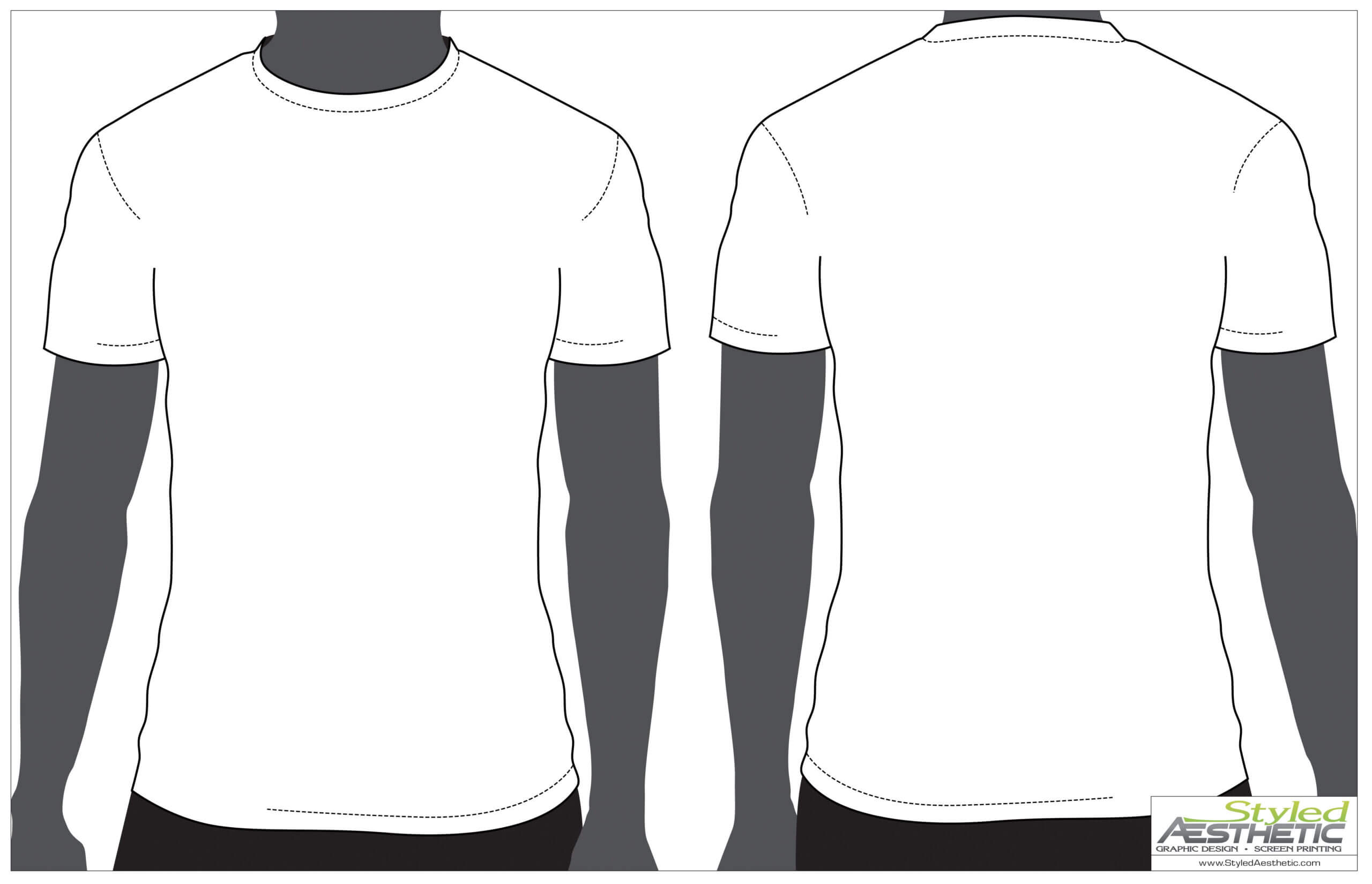Outline Of A T Shirt Template | Free Download Best Outline With Regard To Printable Blank Tshirt Template