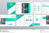 Page Layout For Company Profile, Annual Report, And Brochure pertaining to Welcome Brochure Template