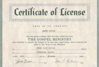 Pastor Ordination Certificate Templates – Zimer.bwong.co throughout Ordination Certificate Template