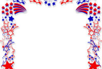 Patriotic Border Backgrounds For Powerpoint – Border And pertaining to Patriotic Powerpoint Template