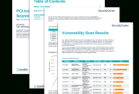 Pci Internal Vulnerability Scanning Report – Sc Report In Nessus Report Templates