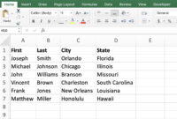 Perform A Microsoft Word Mail Merge From Within Excel for How To Create A Mail Merge Template In Word 2010