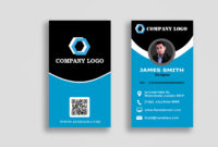 Personal Business Cards Templatepolah Design On Dribbble pertaining to Personal Identification Card Template