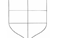 Personal Coat Of Arms Template | Coat Of Arms, Templates pertaining to Blank Shield Template Printable
