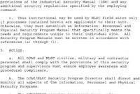 Personnel Security And Classified Information Program – Pdf with regard to Dd Form 2501 Courier Authorization Card Template