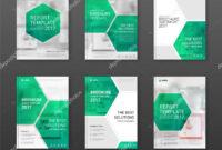 Pharmaceutical Brochure Cover Templates Set. — Stock Vector Inside Pharmacy Brochure Template Free