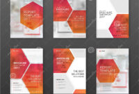 Pharmaceutical Brochure Cover Templates Set. Stock Vector with Pharmacy Brochure Template Free
