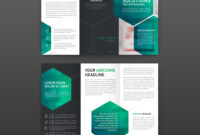 Pharmaceutical Brochure Tri Fold Template Layout with Pharmacy Brochure Template Free