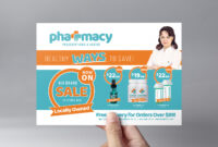 Pharmacy Flyer Template – Psd, Ai & Vector – Brandpacks throughout Pharmacy Brochure Template Free