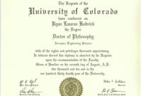 Phd Degree Template My Forth Degree, A Symbol Of with regard to University Graduation Certificate Template