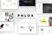 Phlox Minimal Powerpoint Template for Fancy Powerpoint Templates