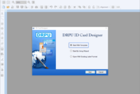 Photo Id Card Maker Free Software Demo Download Create in Faculty Id Card Template