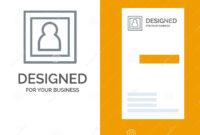 Photo, Photographer, Photography, Portrait Grey Logo Design Regarding Photographer Id Card Template