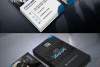 Photographer Business Card Psd Bundle | Free Business Card with Photography Business Card Template Photoshop