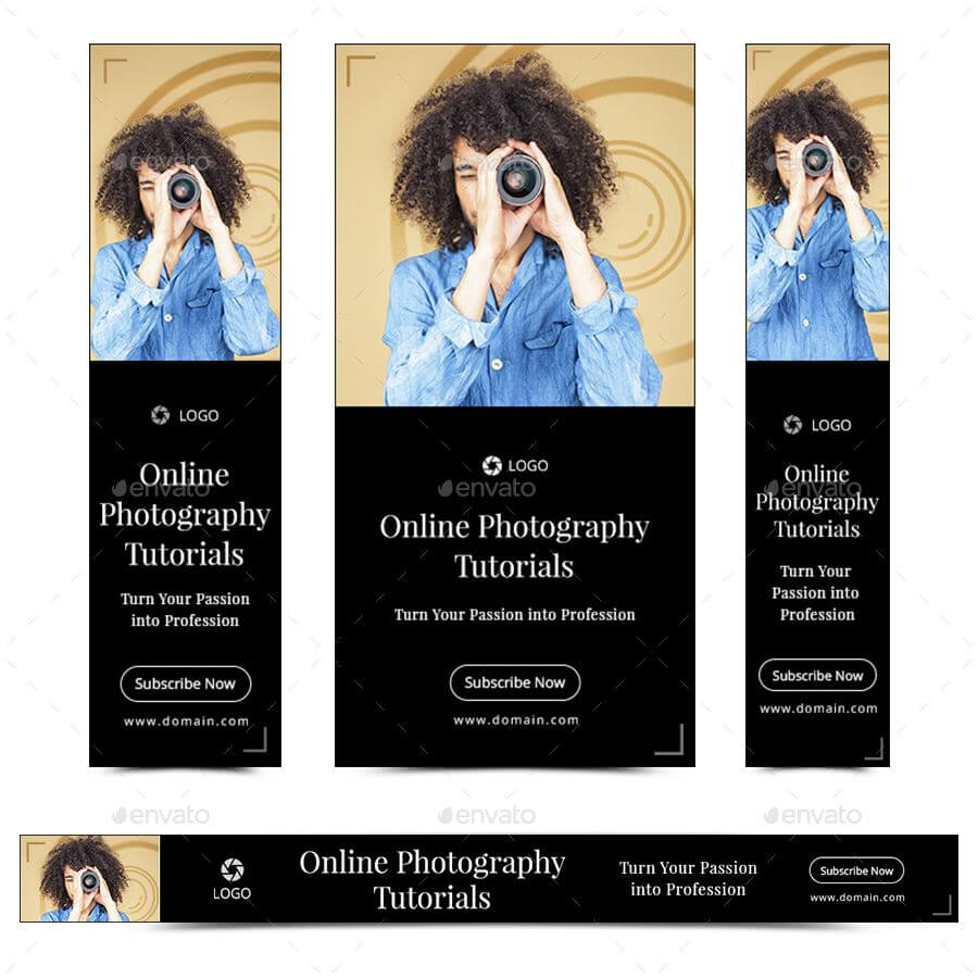 Photography Banner Set #sponsored #photography, #banner Throughout Photography Banner Template