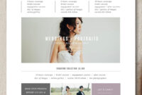 Photography Rate Card Template – Forza.mbiconsultingltd throughout Advertising Rate Card Template