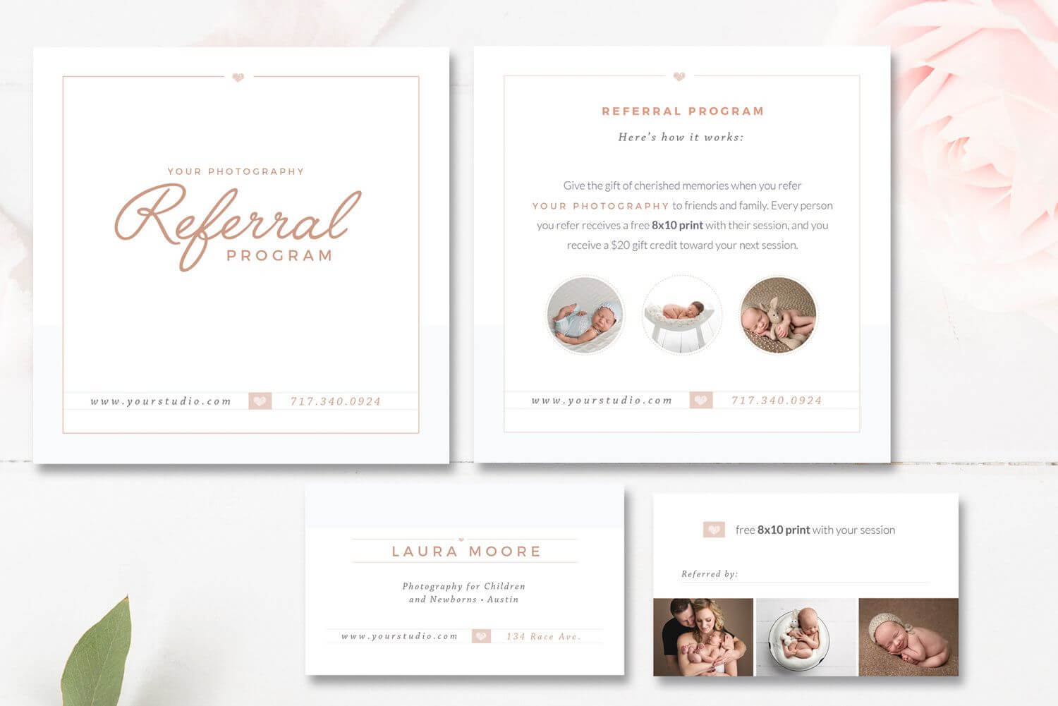Photography Referral Card Templates, Referral Program Regarding Photography Referral Card Templates