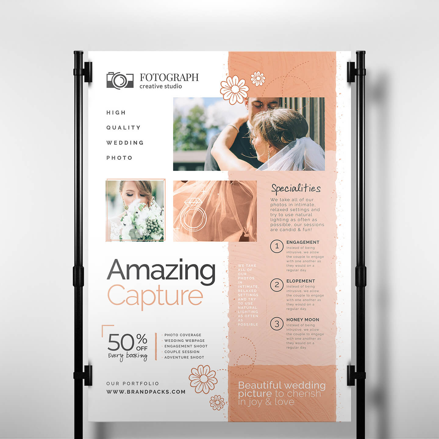Photography Service Banner Template - Psd, Ai & Vector Throughout Photography Banner Template
