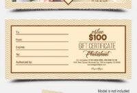 Photoshoot – Free Gift Certificate Psd Template On Behance within Photoshoot Gift Certificate Template